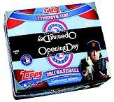 2011 Topps Opening Day Baseball Hobby Box
