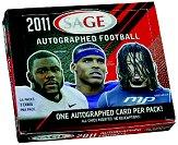 2011 SAGE Football Hobby Box