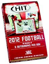2012 SAGE HIT Football Hobby Box Low Series
