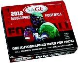 2012 SAGE Football Hobby Box