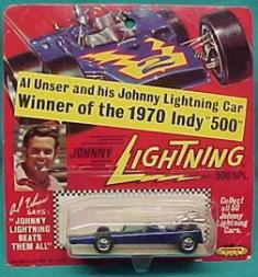 1970 Johnny Lightning Indy 500 1:64 #NNO  Al Unser