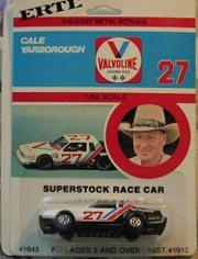 1981 Ertl Superstock 1:64 #27 C.Yarborough/Valvoline