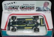 1985 Ertl Motorized Pullback Indy Cars 1:43 #11 B.Unser/Gould Norton Spirit