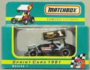 1991 Matchbox Sprint Cars 1:55 #1 S.Swindell/TMC
