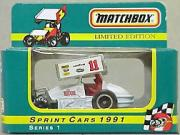1991 Matchbox Sprint Cars 1:55 #11 S.Kinser/White