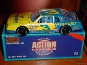 1995 Action Racing Collectables 1:24 #3 D.Earnhardt/Wrangler/1987 Monte Carlo/6000