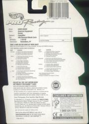 1997 Hot Wheels Pro Racing 1:64 #96  D.Green/Caterpillar back image