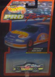 1997 Hot Wheels Pro Racing 1:64 #96  D.Green/Caterpillar