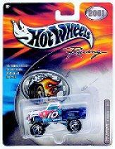 2001 Hot Wheels Racing Tail Gunner 1:64 #10 J.Benson/Valvoline