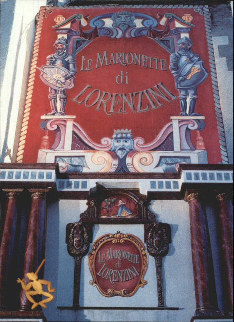 1996 Adventures of Pinocchio #6 Lorenzini's Theatre