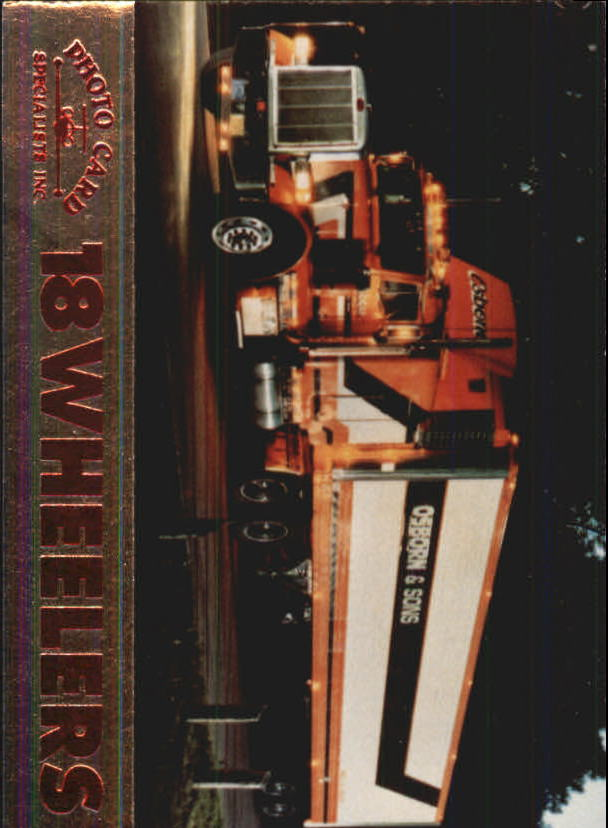 1994 18 Wheelers #6 Osborn and Son Trucking