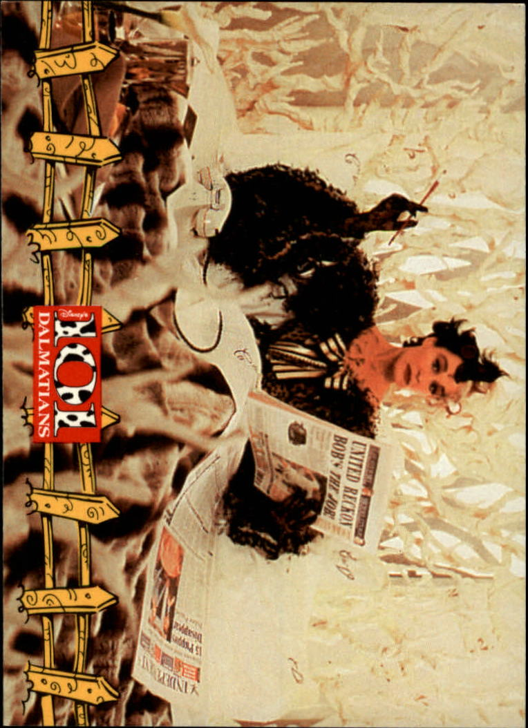 1996 101 Dalmatians #17 Cruella the Culprit