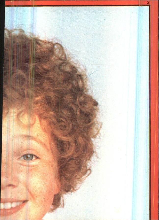 1981 Annie Album Stickers #2 Sticker 2