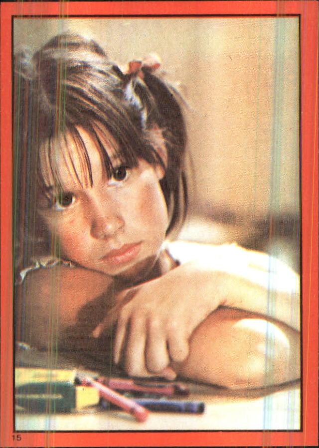 1981 Annie Album Stickers #15 Sticker 15