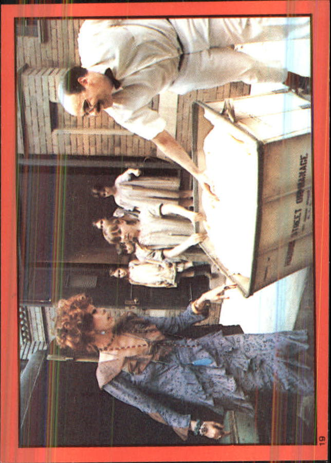 1981 Annie Album Stickers #19 Sticker 19