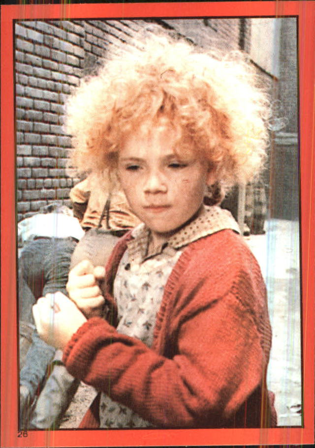 1981 Annie Album Stickers #25 Sticker 25