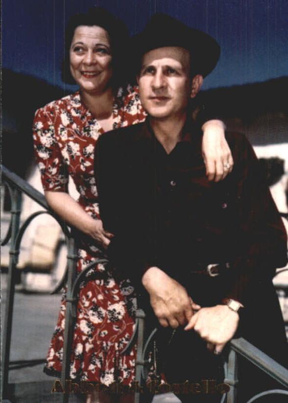 1996 Abbott and Costello #5 Mr. and Mrs. Bud Abbott