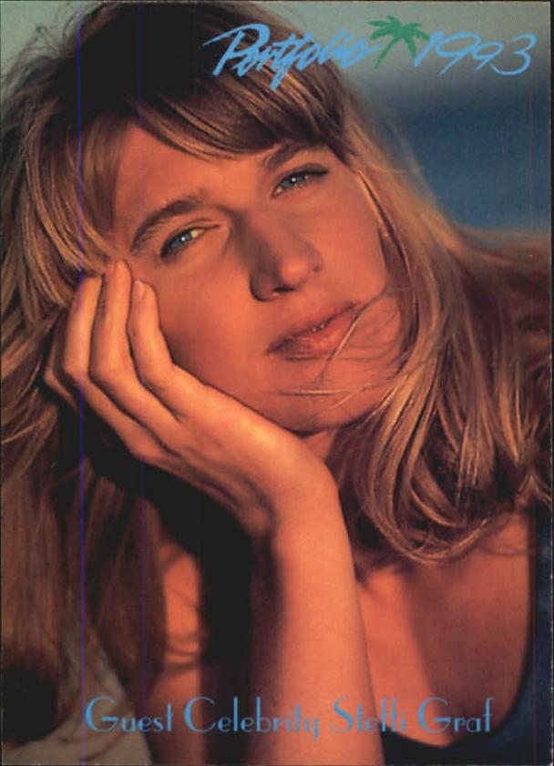 1992-93 Portfolio #105 Guest Celebrity Steffi Graf