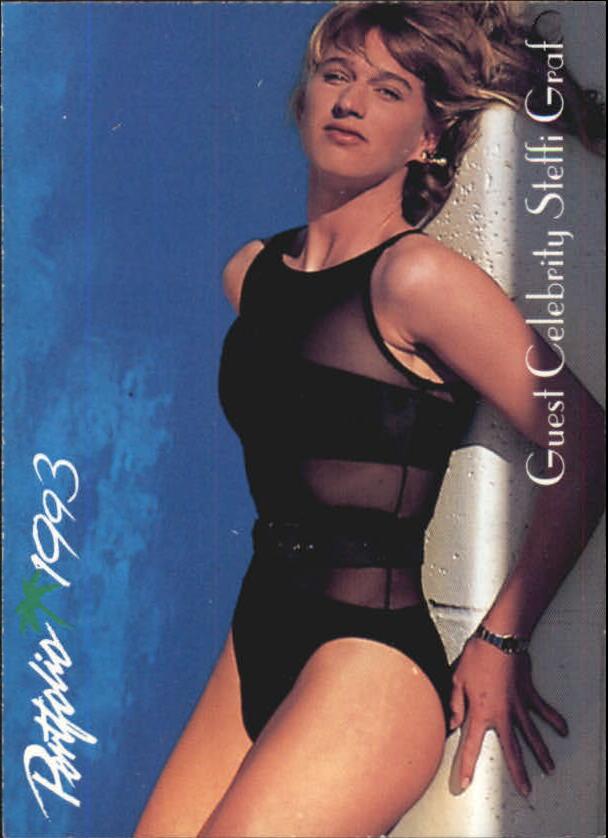 1992-93 Portfolio #108 Guest Celebrity Steffi Graf