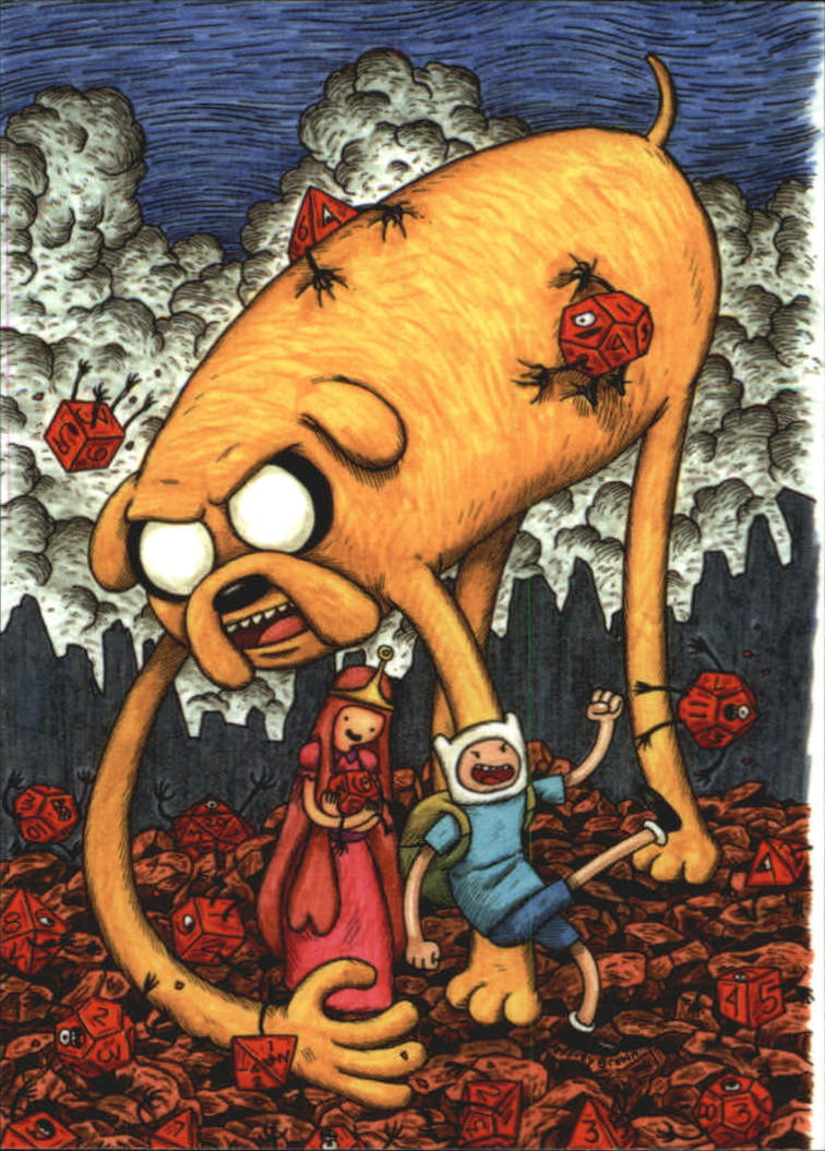 2014 Adventure Time #2 Issue 1 Cover D