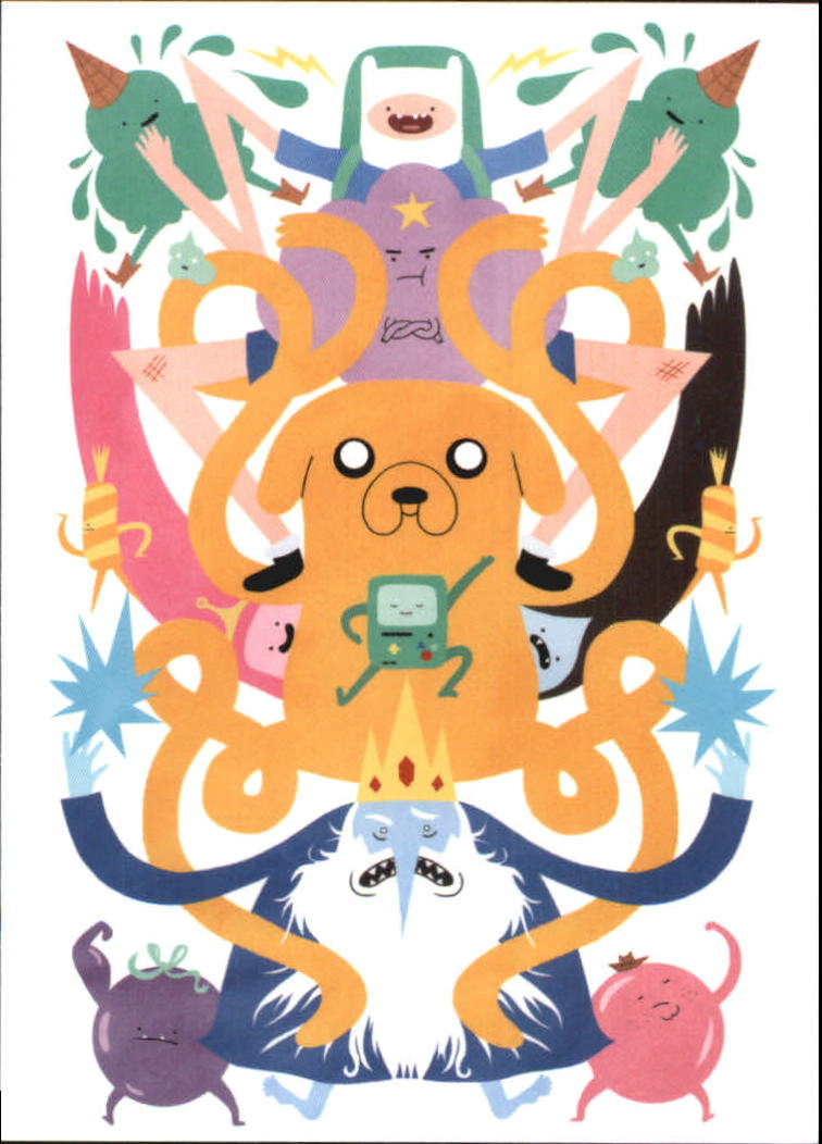 2014 Adventure Time #7 Issue 12 Cover C