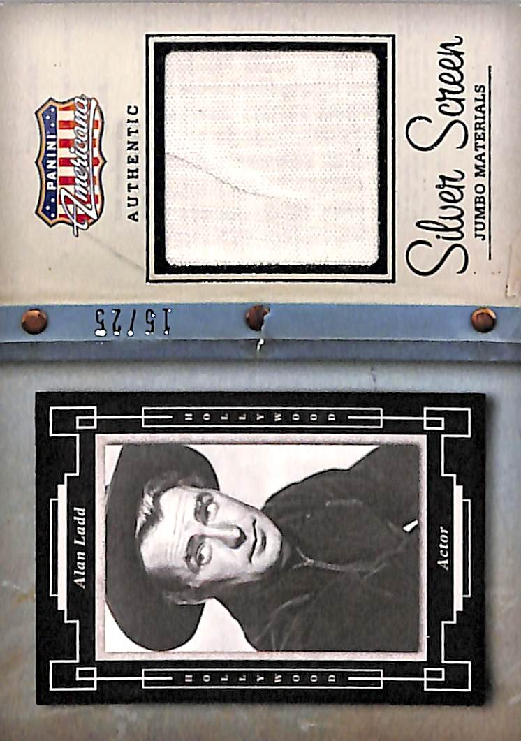 2015 Americana Silver Screen Jumbo Materials #1 Alan Ladd/25