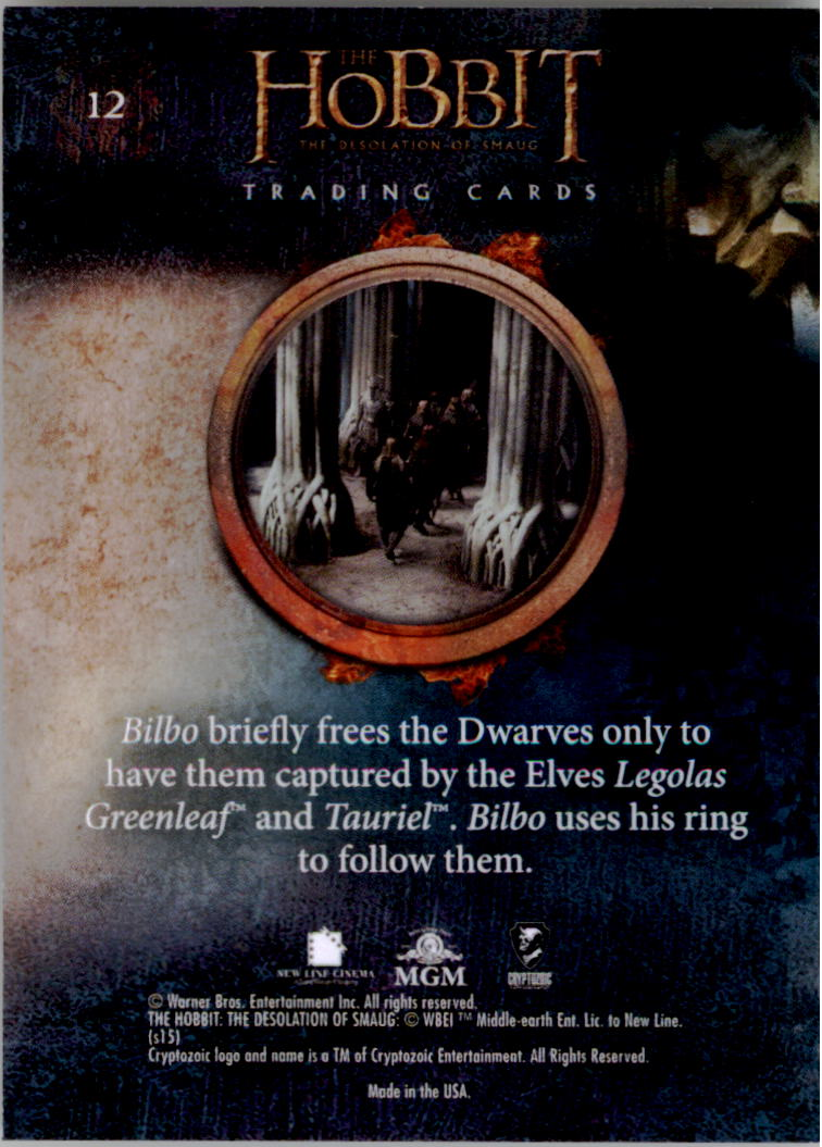 2015-The-Hobbit-Desolation-of-Smaug-Base-Set-Trading-Cards-Pick-From-List miniature 25