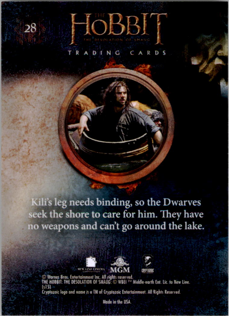 2015-The-Hobbit-Desolation-of-Smaug-Base-Set-Trading-Cards-Pick-From-List miniature 57