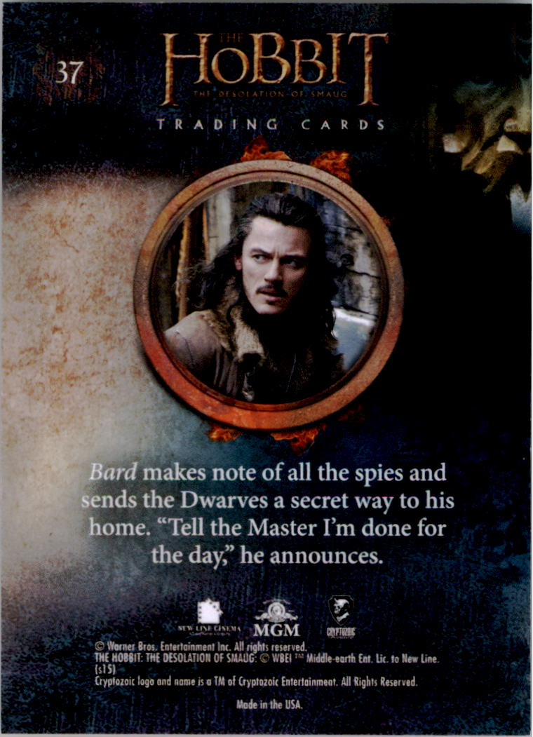 2015-The-Hobbit-Desolation-of-Smaug-Base-Set-Trading-Cards-Pick-From-List miniature 75