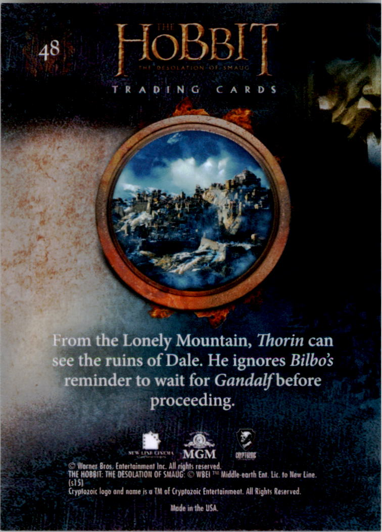 2015-The-Hobbit-Desolation-of-Smaug-Base-Set-Trading-Cards-Pick-From-List miniature 95
