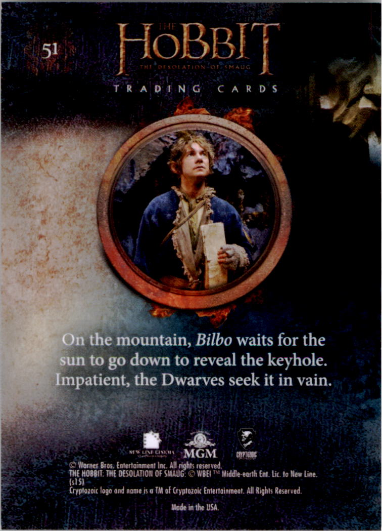2015-The-Hobbit-Desolation-of-Smaug-Base-Set-Trading-Cards-Pick-From-List miniature 101