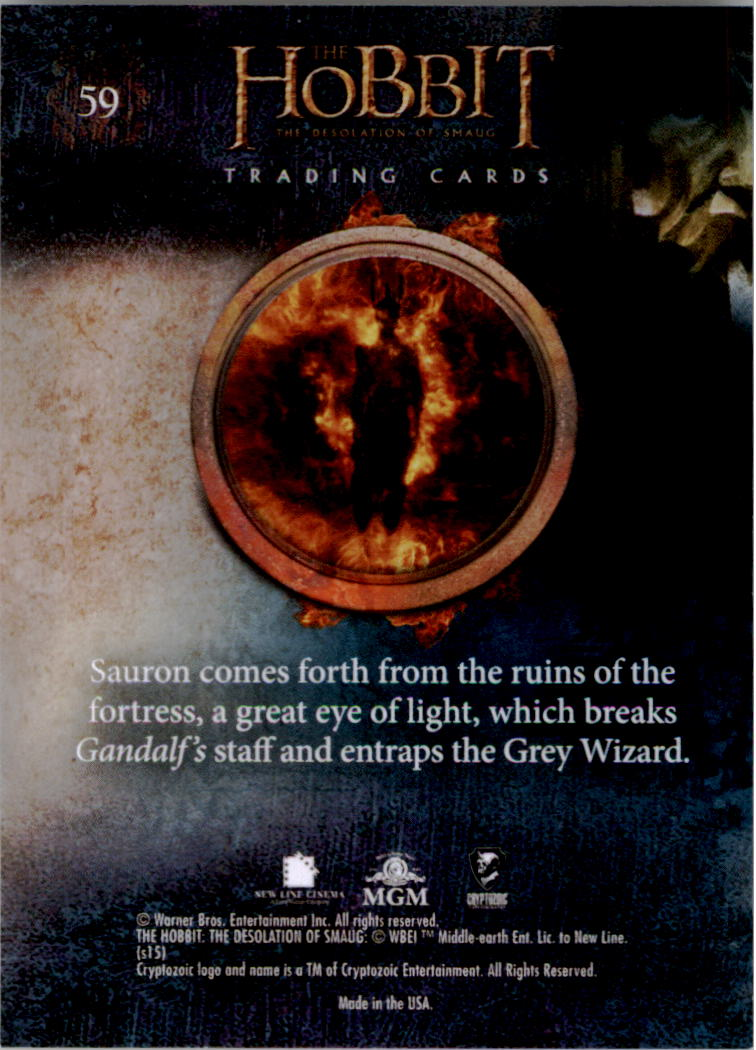 2015-The-Hobbit-Desolation-of-Smaug-Base-Set-Trading-Cards-Pick-From-List miniature 117