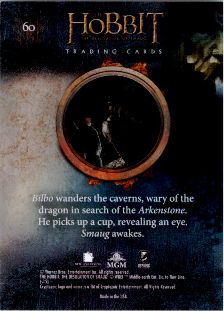 2015-The-Hobbit-Desolation-of-Smaug-Base-Set-Trading-Cards-Pick-From-List miniature 119