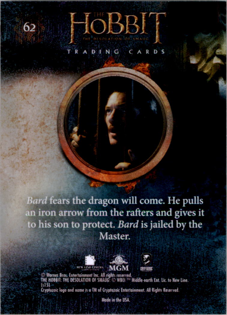 2015-The-Hobbit-Desolation-of-Smaug-Base-Set-Trading-Cards-Pick-From-List miniature 123
