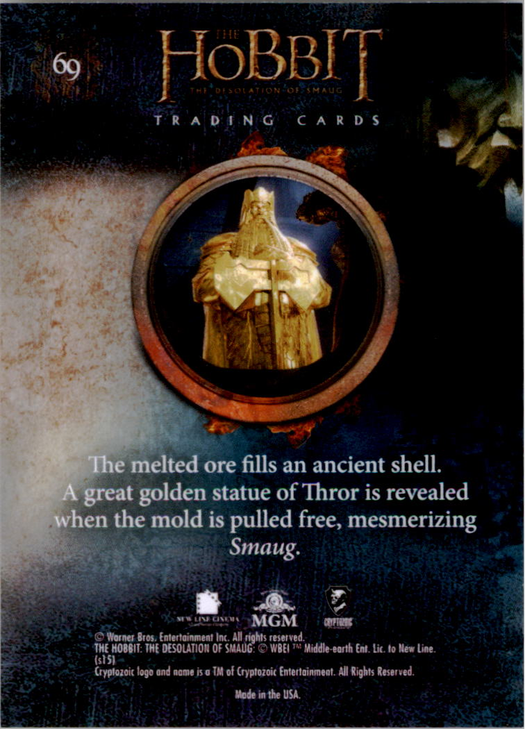 2015-The-Hobbit-Desolation-of-Smaug-Base-Set-Trading-Cards-Pick-From-List miniature 137