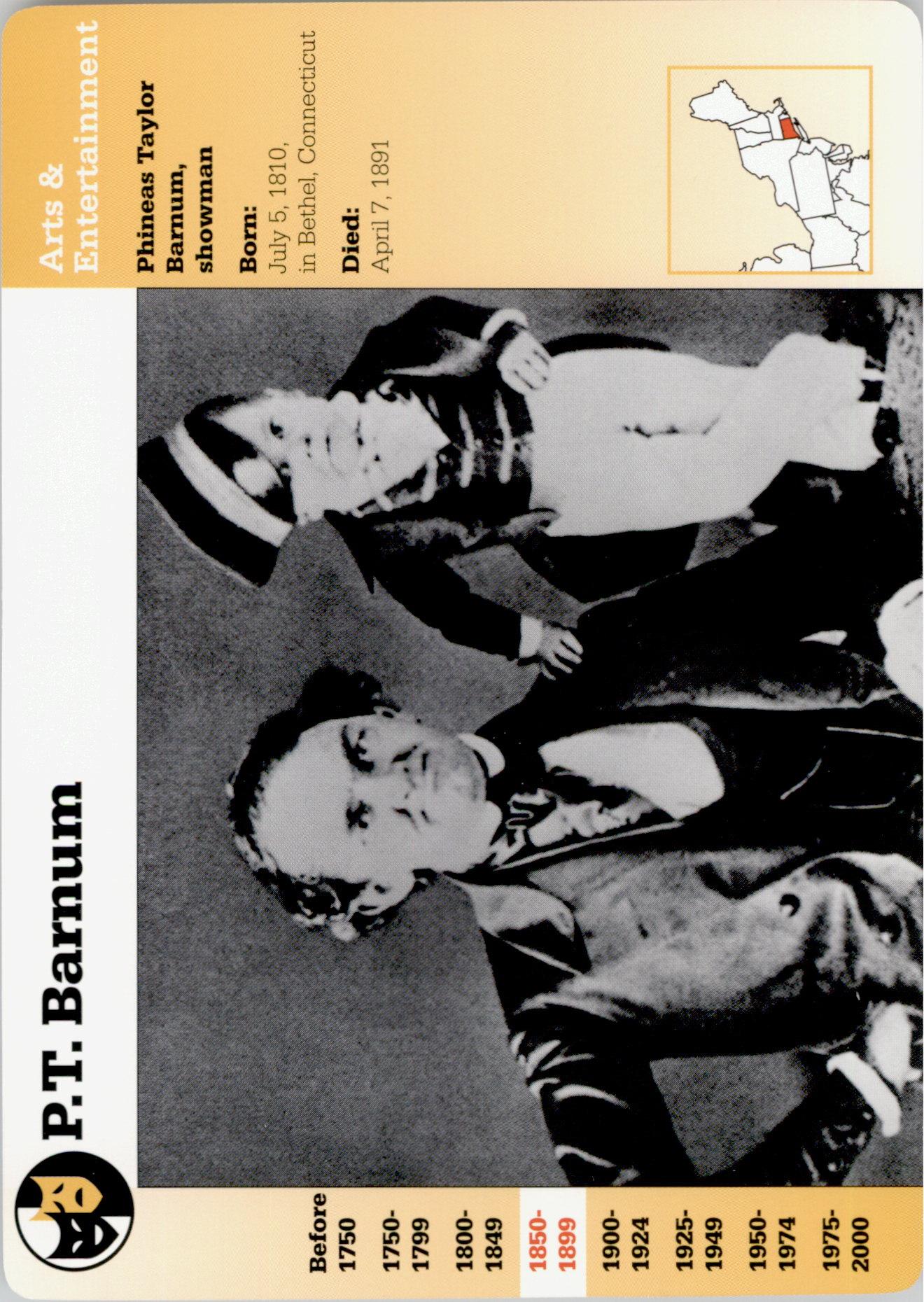 1994-01 Story of America #6-3 P.T. Barnum