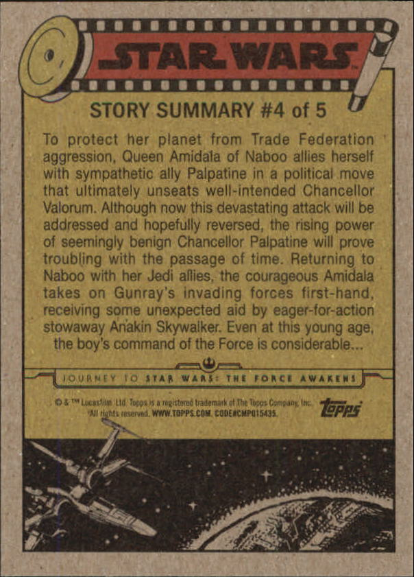 2015-Star-Wars-Journey-to-The-Force-Awakens-Trading-Card-Pick miniature 9