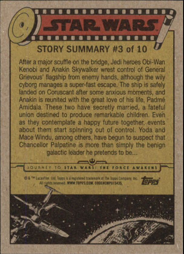2015-Star-Wars-Journey-to-The-Force-Awakens-Trading-Card-Pick miniature 27