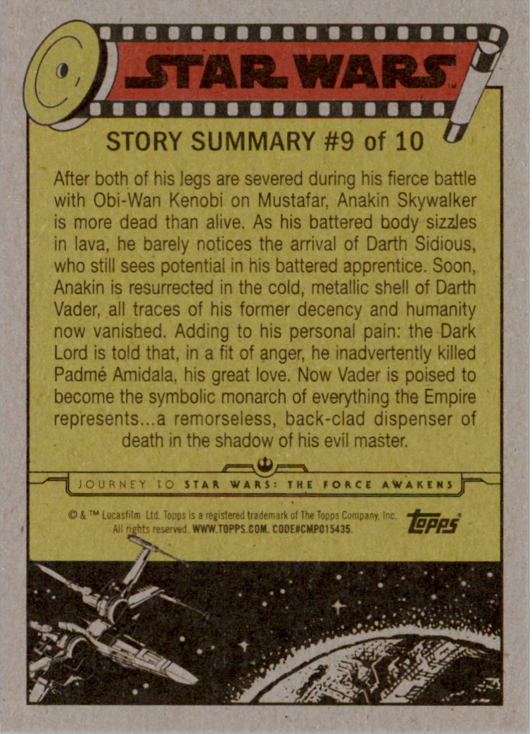 2015-Star-Wars-Journey-to-The-Force-Awakens-Trading-Card-Pick miniature 39