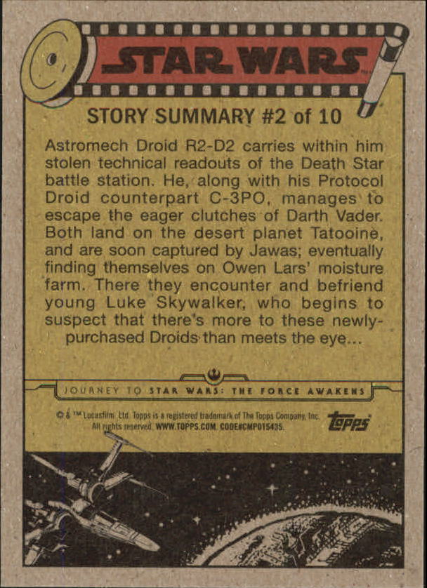 2015-Star-Wars-Journey-to-The-Force-Awakens-Trading-Card-Pick miniature 45