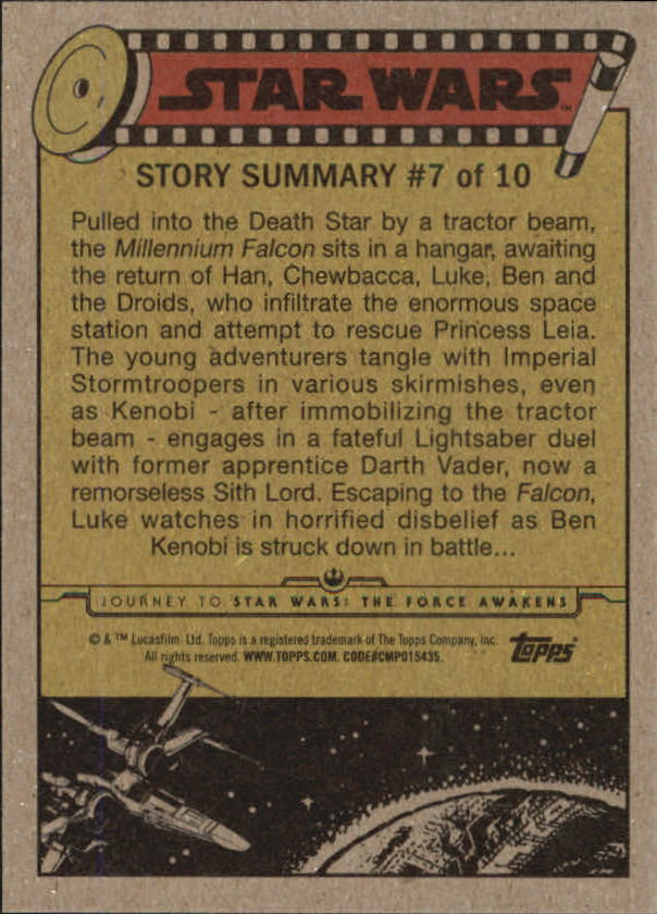 2015-Star-Wars-Journey-to-The-Force-Awakens-Trading-Card-Pick miniature 53
