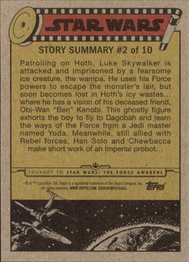 2015-Star-Wars-Journey-to-The-Force-Awakens-Trading-Card-Pick miniature 83