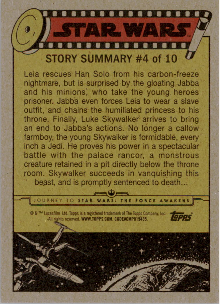 2015-Star-Wars-Journey-to-The-Force-Awakens-Trading-Card-Pick miniature 125