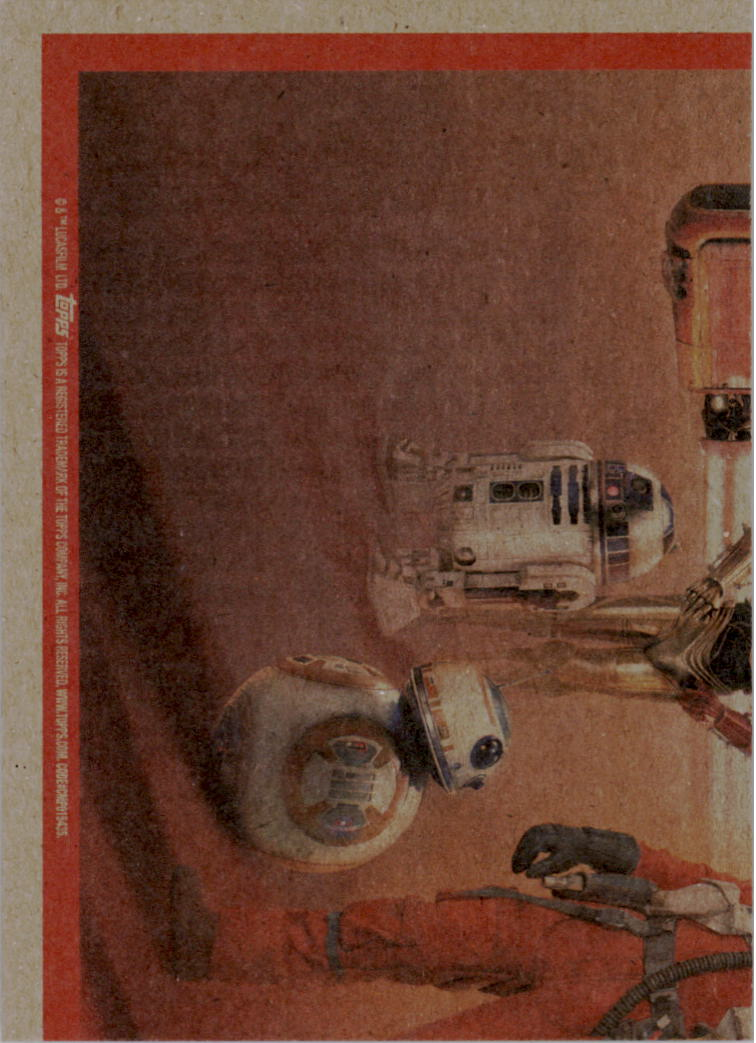 2015-Star-Wars-Journey-to-The-Force-Awakens-Trading-Card-Pick miniature 161