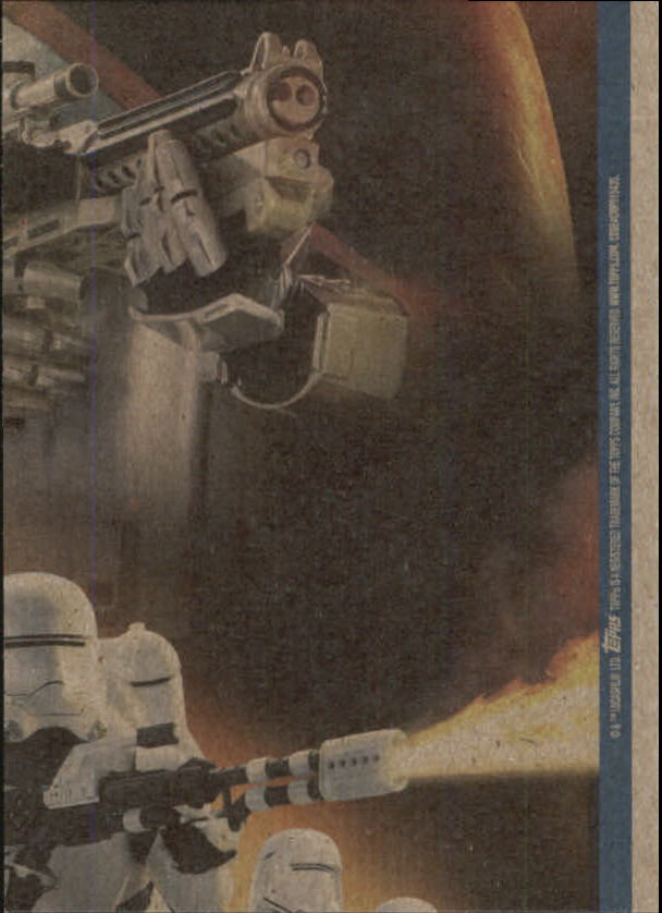 2015-Star-Wars-Journey-to-The-Force-Awakens-Trading-Card-Pick miniature 183