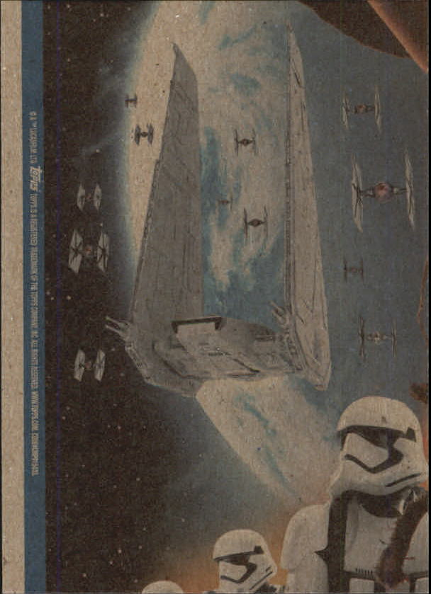 2015-Star-Wars-Journey-to-The-Force-Awakens-Trading-Card-Pick miniature 187