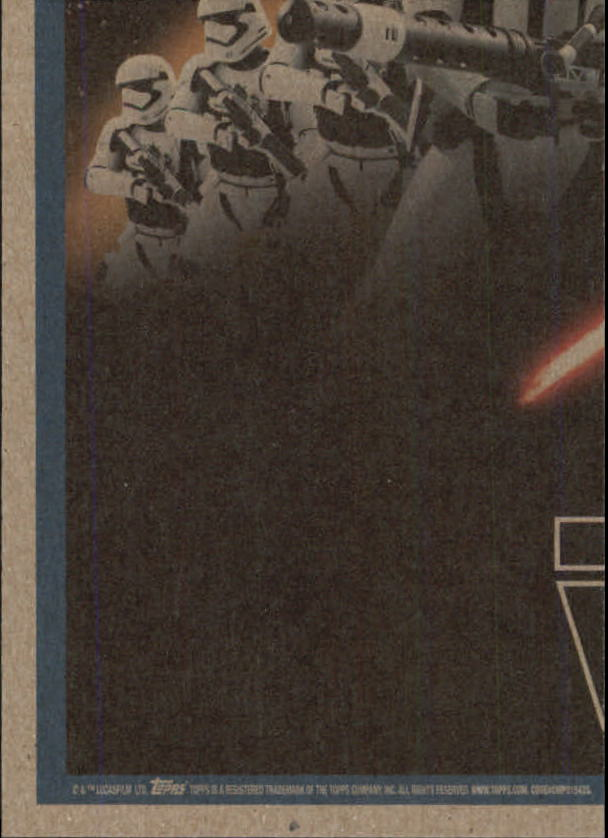 2015-Star-Wars-Journey-to-The-Force-Awakens-Trading-Card-Pick miniature 193