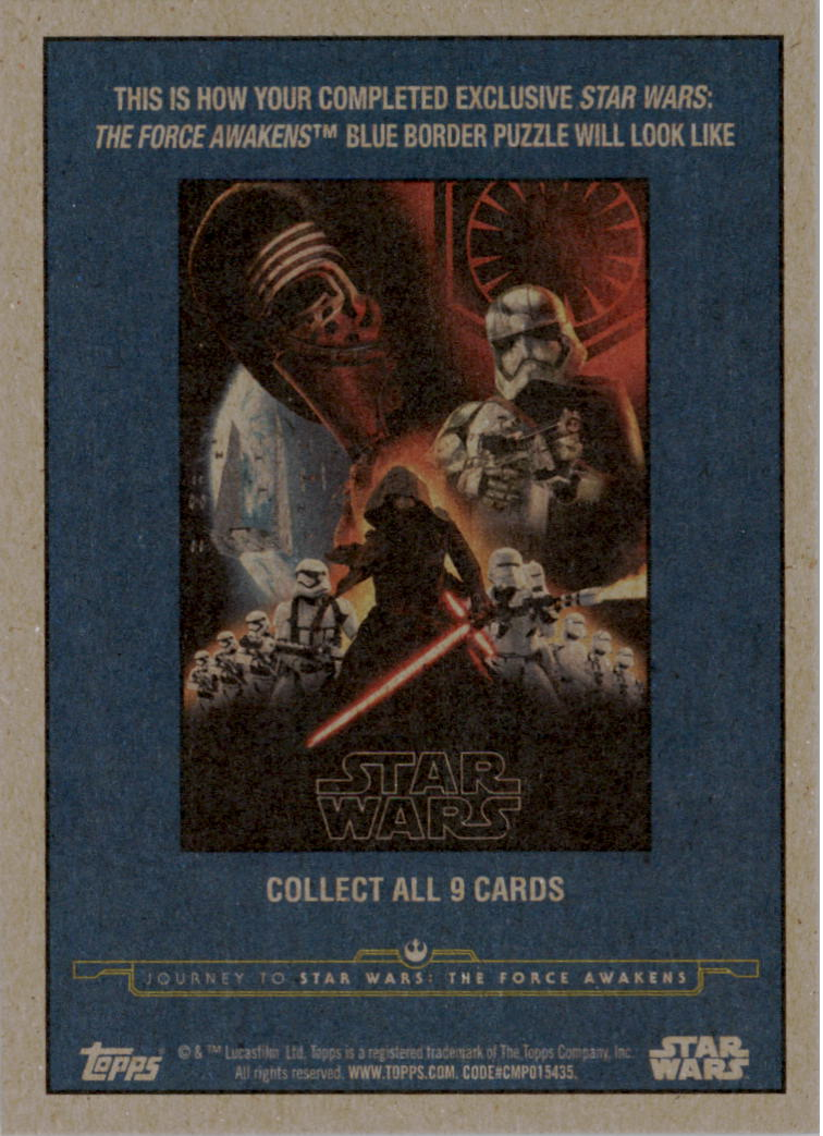 2015-Star-Wars-Journey-to-The-Force-Awakens-Trading-Card-Pick miniature 195