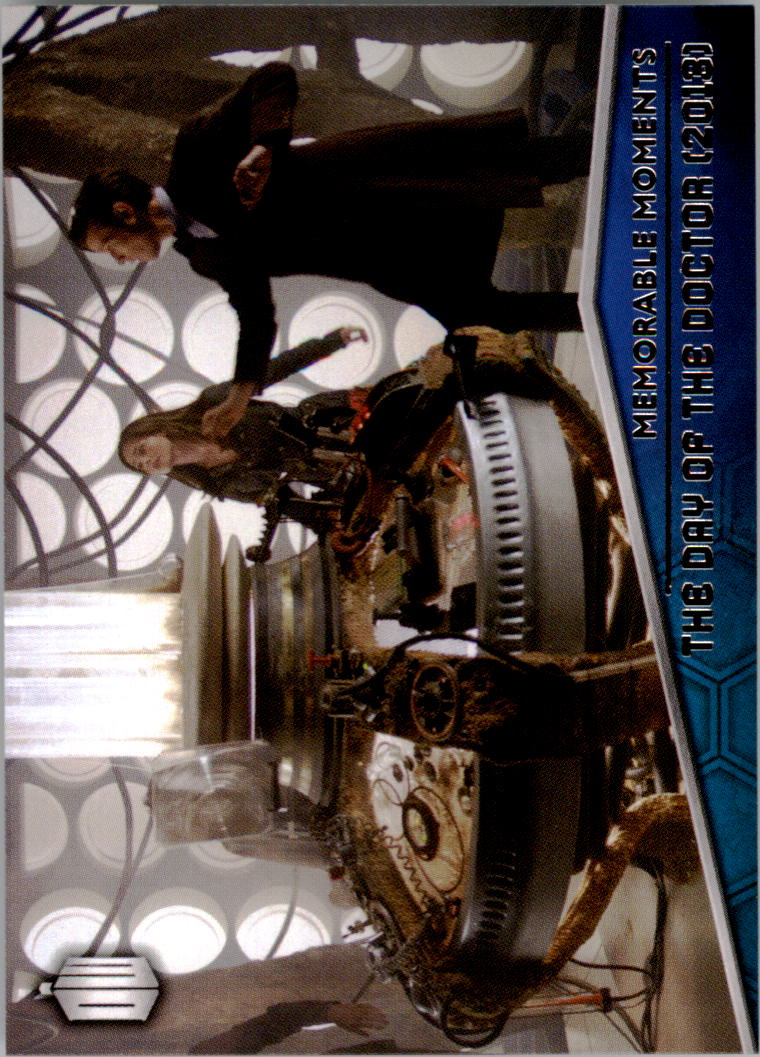 Topps 2015 Dr Who Memorable Moments MM1 MM10 Chase Set