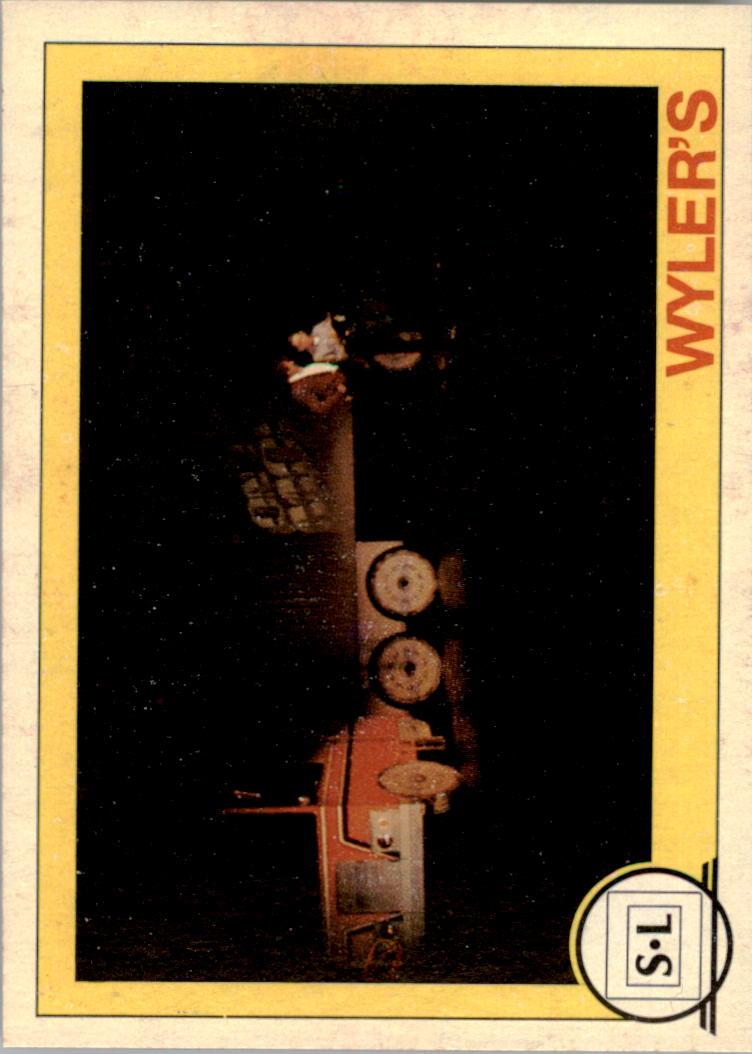 1982 Big Shew Complete Series #3 Wyler's